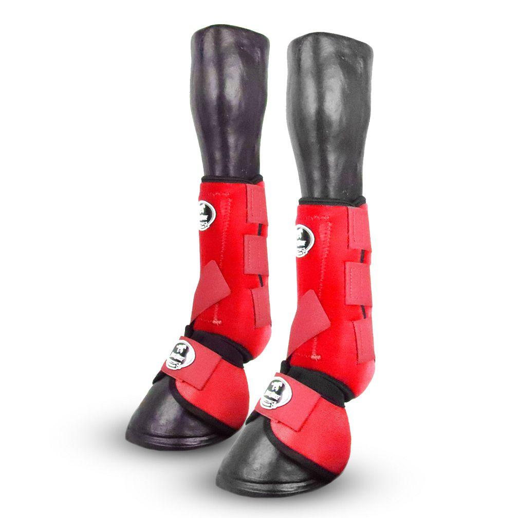 Kit Boots Horse Ventrix Dianteiro Vermelho