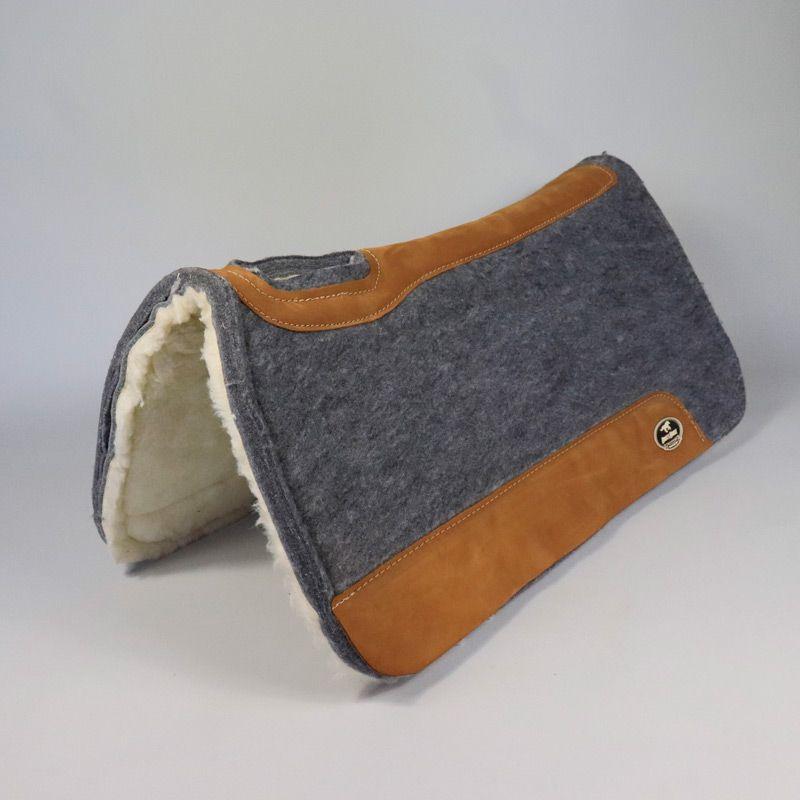 Manta Boots Horse Flex em Feltro Cinza com Lã