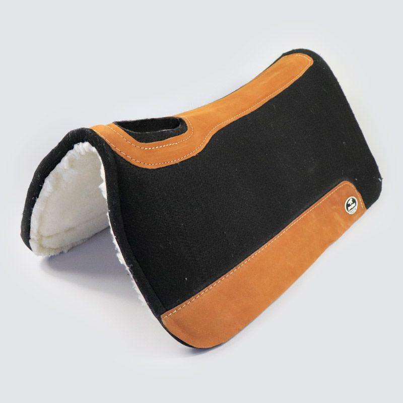 Manta Boots Horse Flex em Feltro  Preto com Lã
