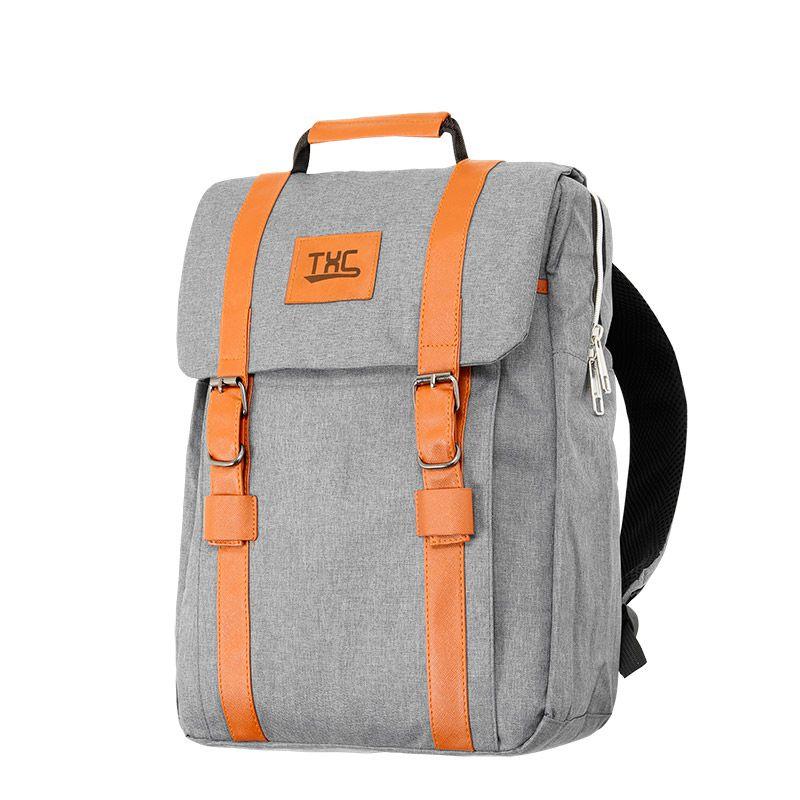 Mochila TXC Brand Backpack Cinza - M003