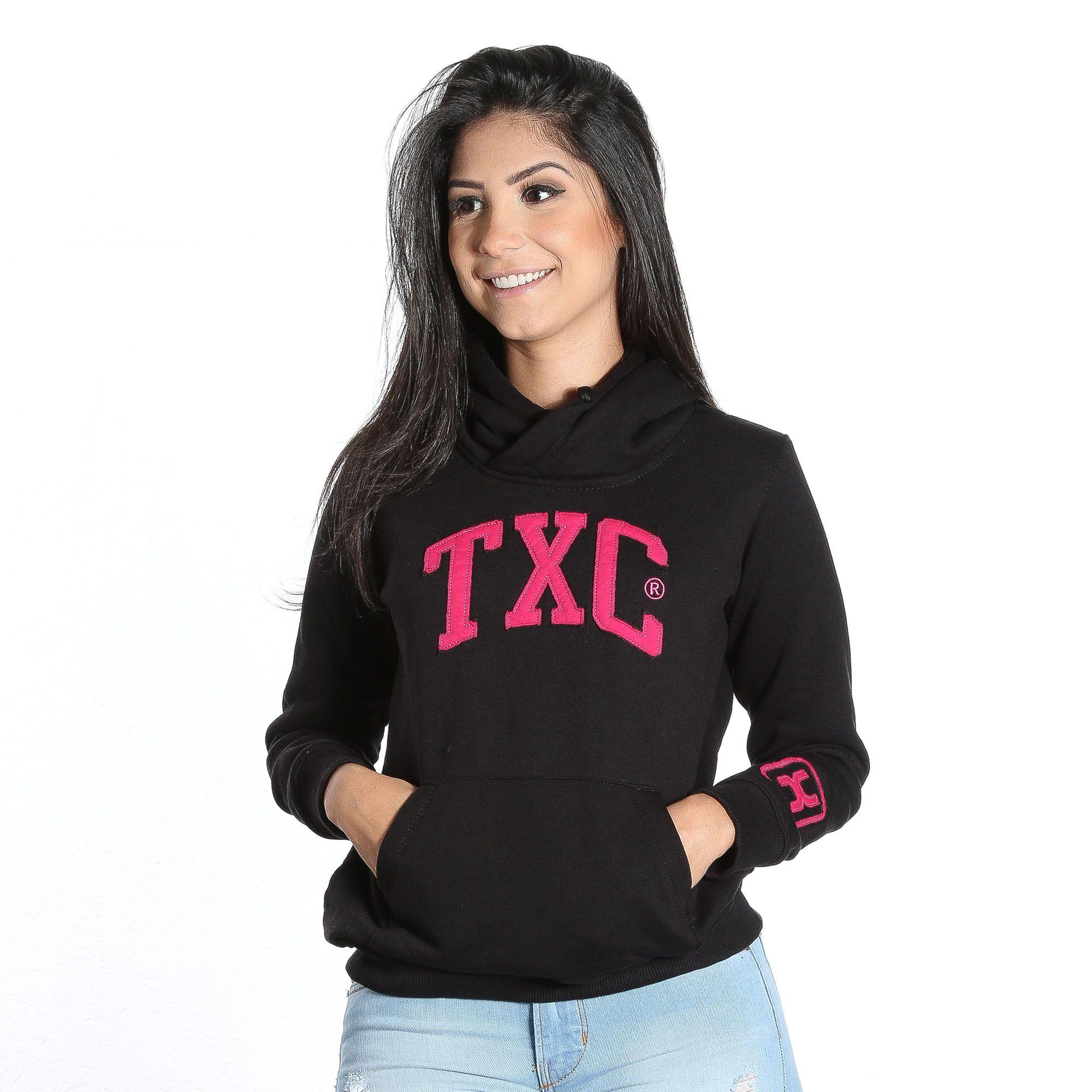 Moletom TXC Brand feminino 9016