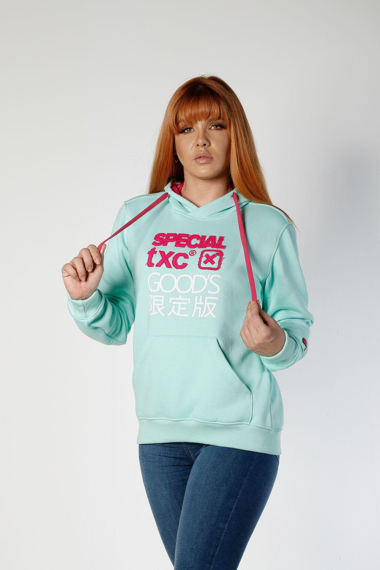 Moletom TXC Brand feminino 9039
