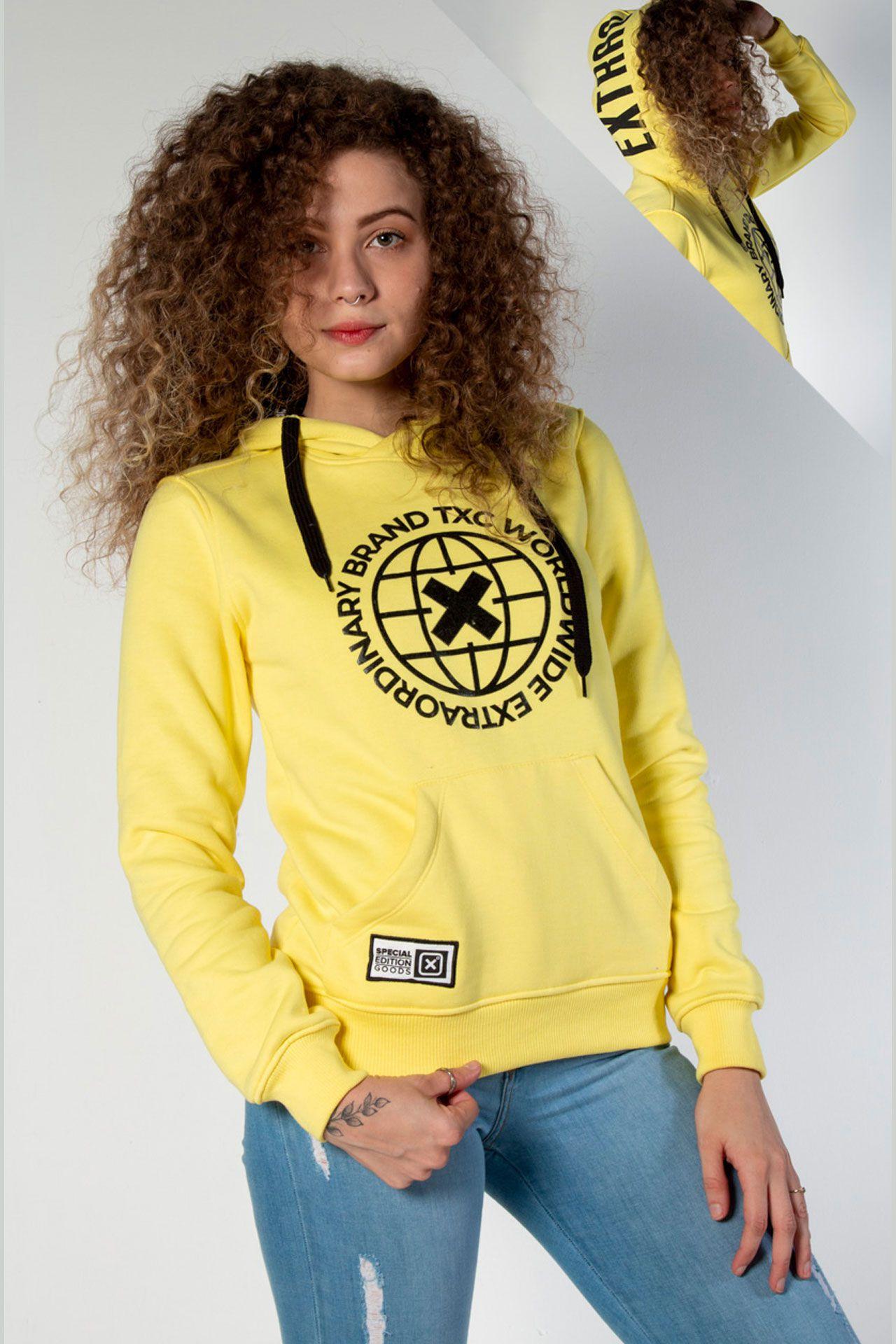 Moletom TXC Brand feminino 9042