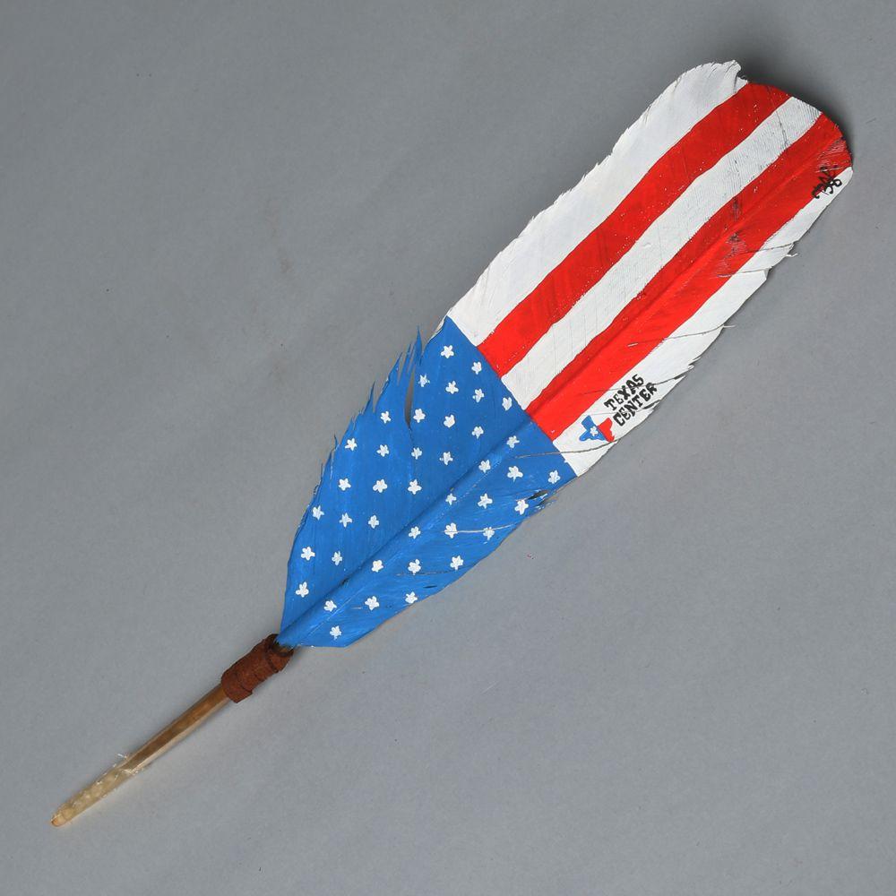 Pena para chapéu Bandeira EUA
