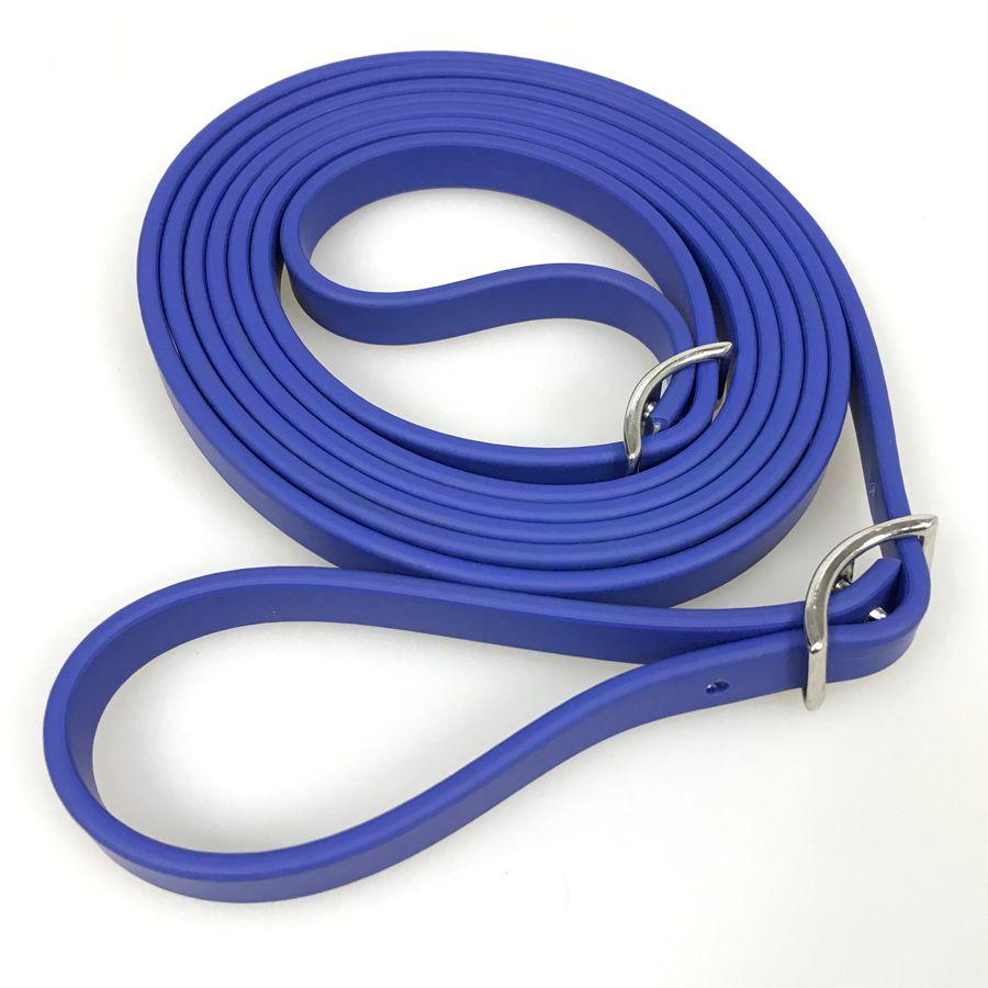 Rédea Top Equine De Silicone Azul