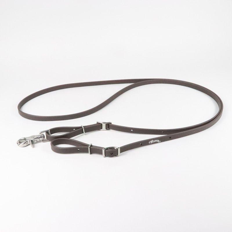 Rédea Weaver Leather De Borracha Tabaco 35-1950-BR