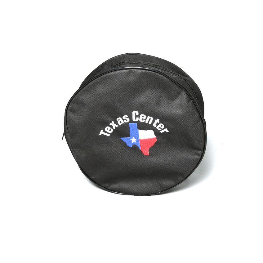 sacola Texas center para laço infantil preto
