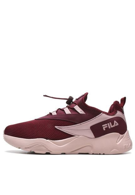 Tênis Fila V-track vinho