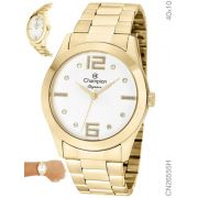 Relógio Champion Feminino Dourado Elegance CN26555H 442570409d