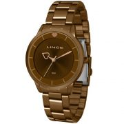 5e8b3c4f774 Relógio Champion Dourado Feminino CH22000H - Hosana Time
