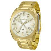 01a10478a9b Relógio Lince Masculino Grande Mrg4584s C1kx Dourado Casual