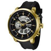 84fc4fd0c98 Relógio Technos Masculino Legacy Dual Time T205FJ 8P - Hosana Time