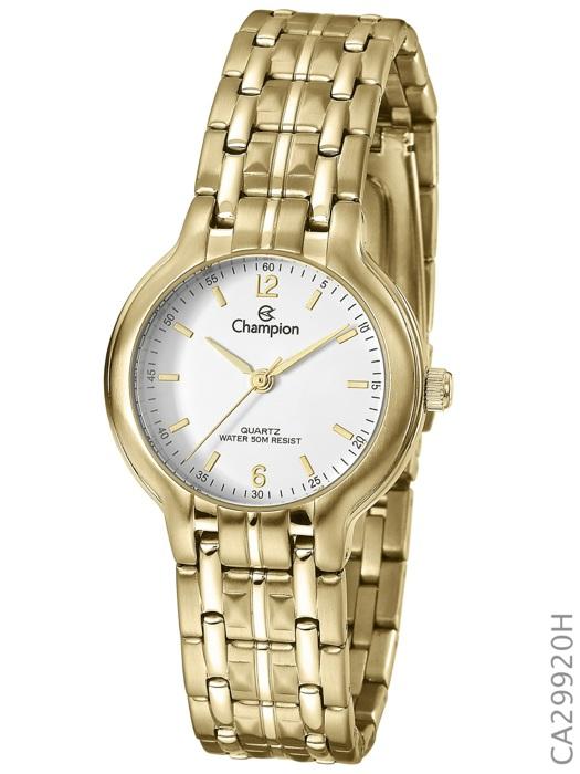 80fde08ed28 Relógio Champion Feminino Dourado Pequeno CA29920H - Hosana Time