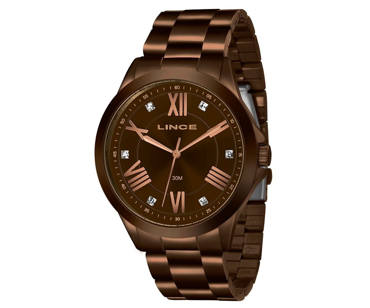 bf0f48a16c5 Relógio Lince Feminino Chocolate Lrbj046l N3nx - Hosana Time