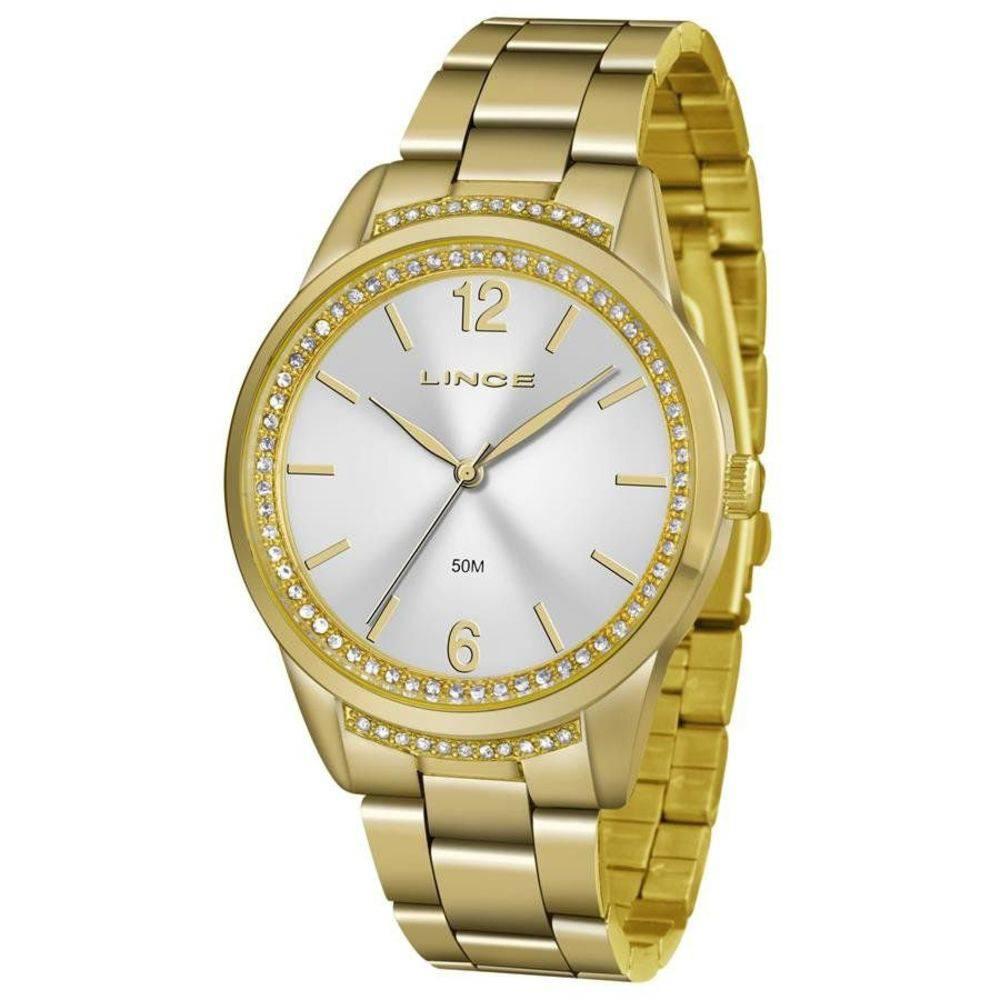 9f88e970381 Relógio Lince Feminino Lrgj075l S2kx Fashion Dourado - Hosana Time