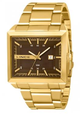 831308e3dd9 Relógio Lince Masculino Dourado MQG4267S M1KX - Hosana Time