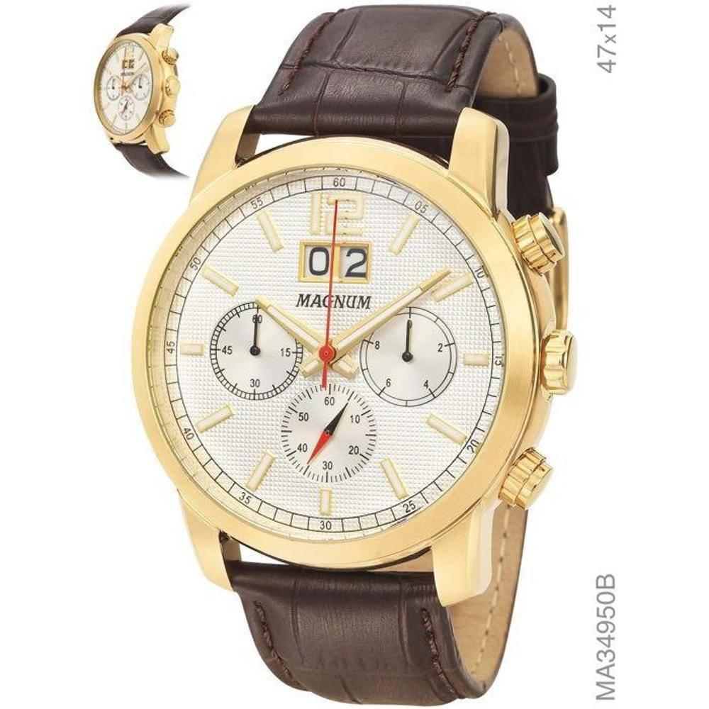 889bf77d8cf Relógio Magnum Masculino MA34950B - Hosana Time