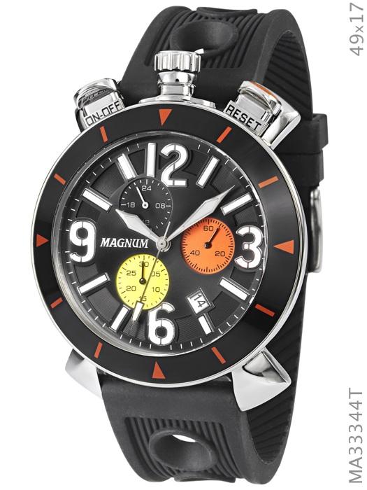 af6cc766a3d Relógio Magnum Masculino Multifunção MA33344T - Hosana Time