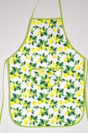 Avental de Cozinha Estampado com Plástico - Limão Siciliano