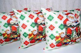 Capa de Almofada Papai Noel