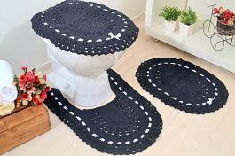 Jogo de Banheiro em Crochê - Luzia