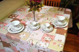 Toalha de Mesa Oxford - Hora do Chá