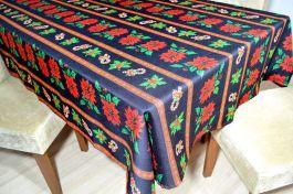 Toalha de Mesa Oxford Natal  - Black Christmas