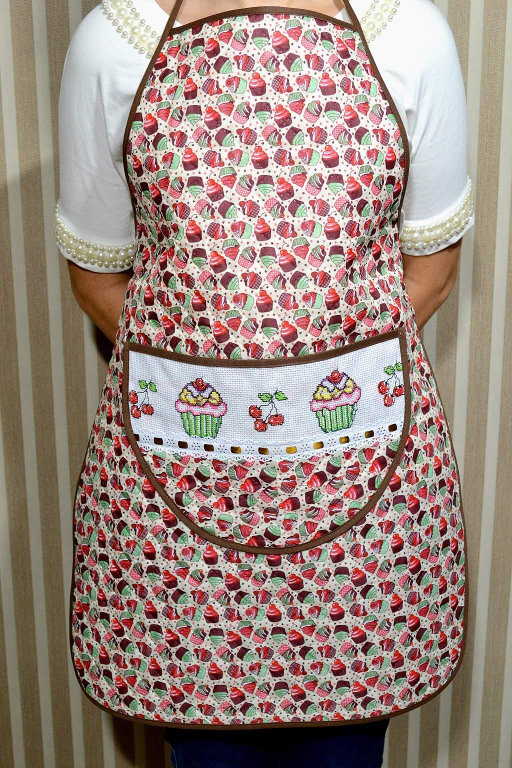 Avental de Cozinha Estampado - Docinhos