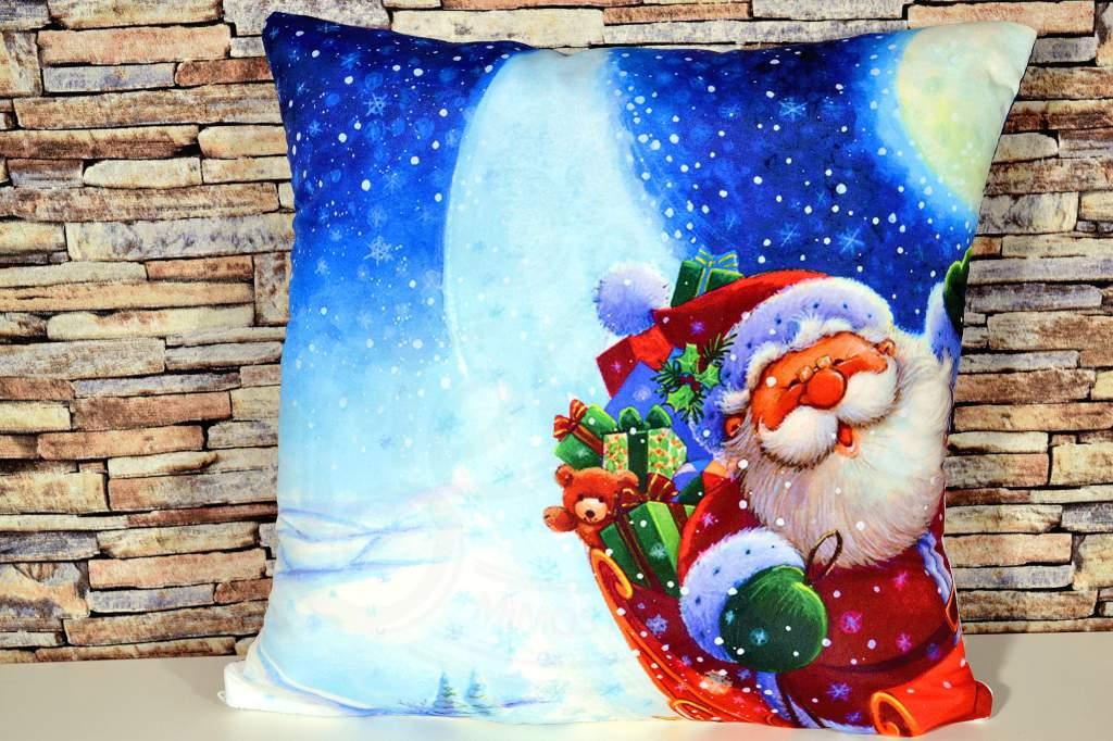 Capa de Almofada Natal - Presentes de Natal