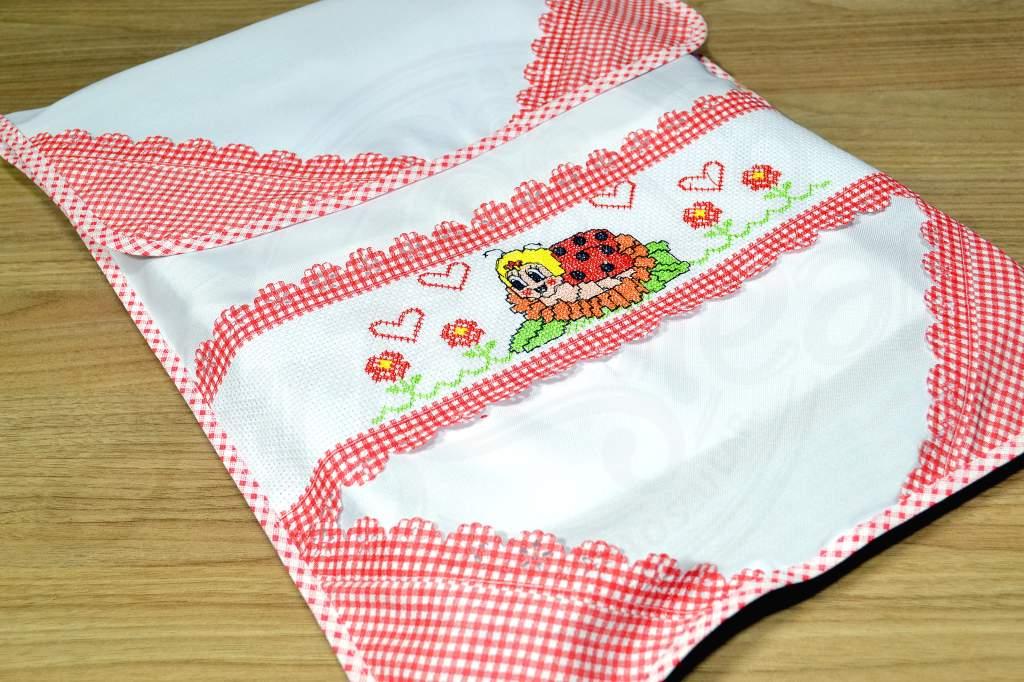 Capa para Assadeira Joaninha em Vermelho