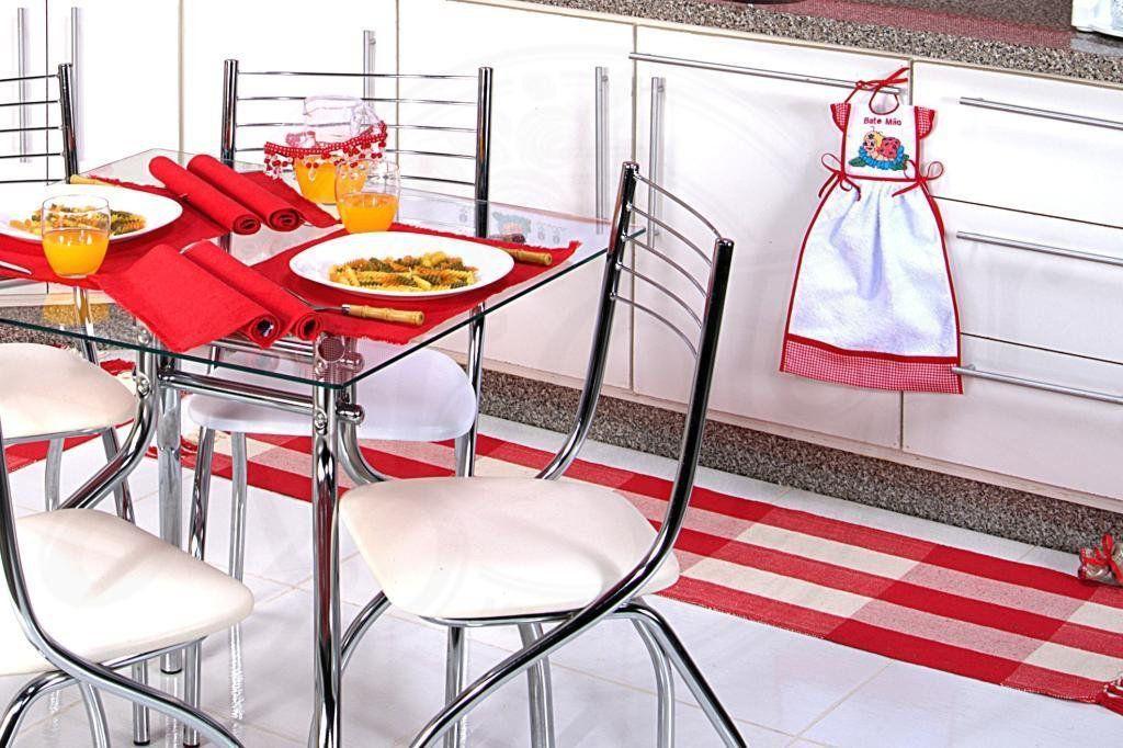 Itens para Cozinha em Bordado Ponto Cruz - Joaninha