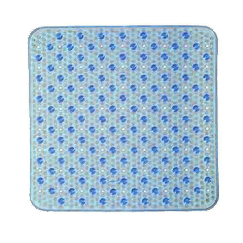 Tapete Para Box Antiderrapante 44cm x 44cm Azul - Corttex