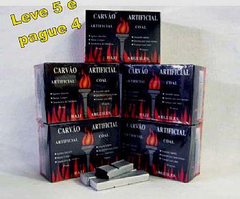 Carvão pastilha para Narguile e Incenso. Super Promoção: LEVE 5  E PAGUE APENAS 4 - cada caixa com 80 unidades - cod.835