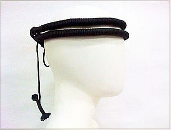 Cordão para turbante preto, modelo tradicional (ikal, agal) Ref.503