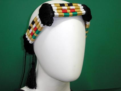 Cordão para turbante colorido (ikal, agal) Ref.517
