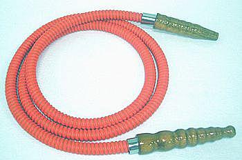 Mangueira de couro longa da marca MYA, com 1,80 m -cod.612