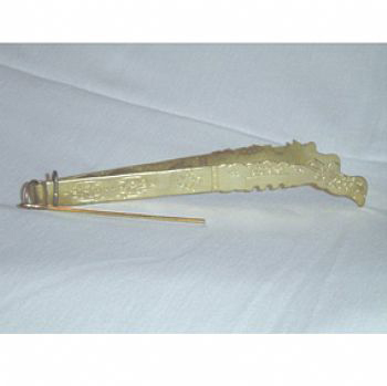 Pegador de Carvão (Dourado) cod.145