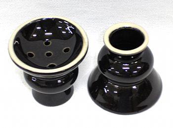Recipiente para tabaco de porcelana  (queimador) cod.668