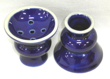 Recipiente para tabaco de porcelana (queimador) cod.614