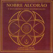 CD NOBRE ALCORÃO - E Seus Significados em Português - Vol. 33 com 4 Suratas -cod.575