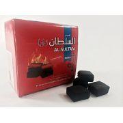 Carvão de Coco para Narguile AL-SULTAN NARA (caixa com 64 peças) cod.767