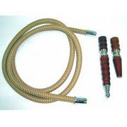 Mangueira de couro longa rosqueável da marca YAHYA -cod.453