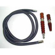 Mangueira de couro longa rosqueável da marca YAHYA -cod.455