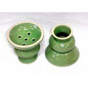 Recipiente para tabaco de porcelana (queimador) cod.667