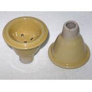 Recipiente para tabaco de cerâmica, tipo macho - cod.874