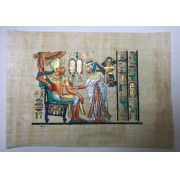 Papiro Egípcio original com temas Faraônicos – Ref.103