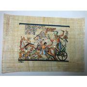 Papiro Egípcio original com temas Faraônicos – Ref.105