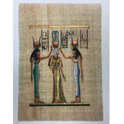 Papiro Egípcio original com temas Faraônicos – Ref.58