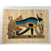 Papiro Egípcio original com temas Faraônicos – Ref.85