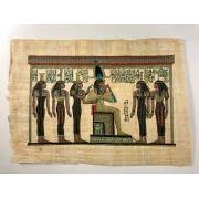 Papiro Egípcio original com temas Faraônicos – Ref.91